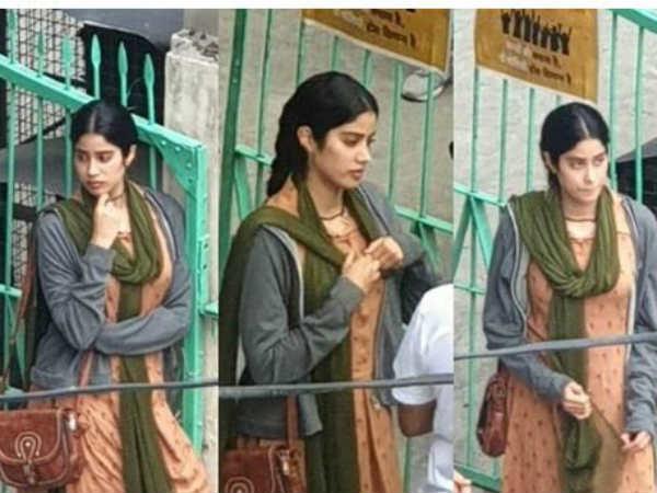 జాహ్నవి కపూర్ క్లిప్పింగ్ లీక్.. సోషల్ మీడియాలో వైరల్