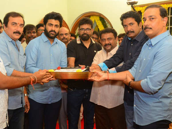 Sharwanand new movie Sreekaram launched