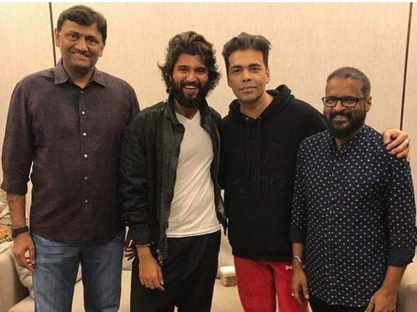 Karan Johar To Remake Dear Comrade In Hindi!