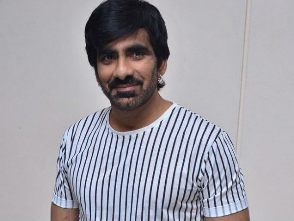Disco Raja shooting in Rs.1.2 cr set