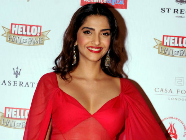 Sonam Kapoor reveals about her iodine deficiency