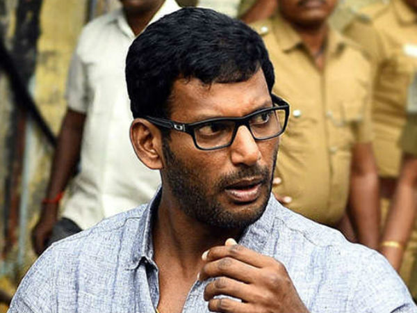 TDS not paid for the past five years: Non-bailable arrest warrant against actor Vishal