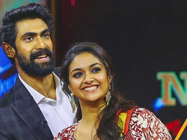 Keerthy Suresh Says No For Rana Daggubati..?
