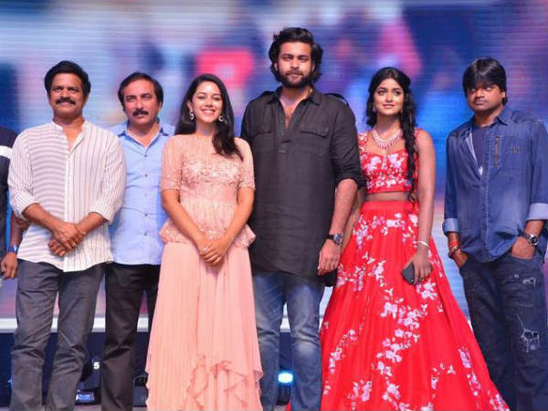 Harish Shankar emotional at Valmiki success meet