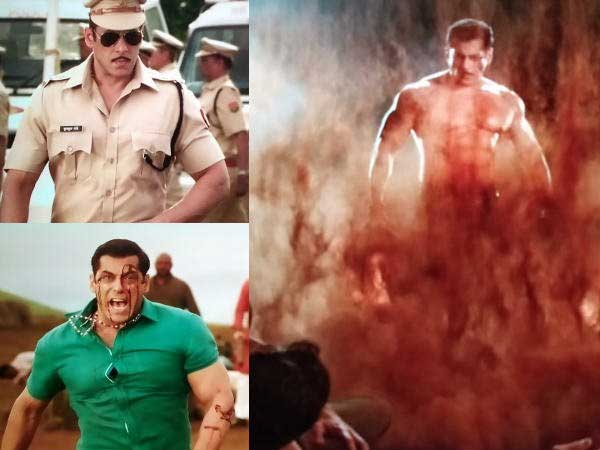 Salman Khan Dabangg3 Movie Trailer Released