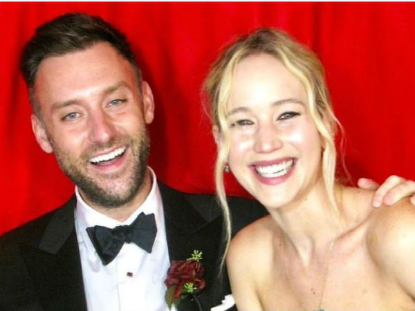 Hollywood star Jennifer Lawrence married Cooke Maroney