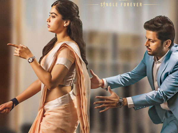 Nithiin and Rashmika Mandanna Spotted in hyderabad Regarding..