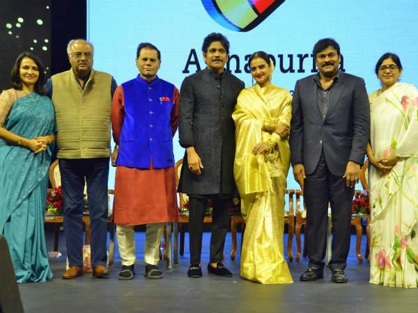 అత్యంత వైభవంగా ANR అవార్డ్స్.. శ్రీదేవికి పురస్కారం.. బోనీ కపూర్ కన్నీరు