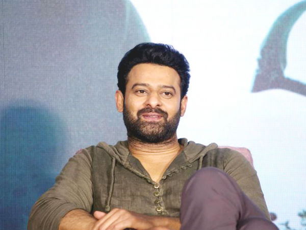 Prabhas Surprising update from his new movie Jaan
