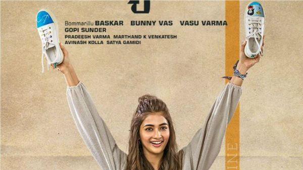 Pooja Hegde First Look From Most Akhil Akkineni movie
