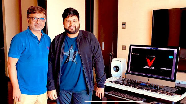 Thaman Background Score For V Movie