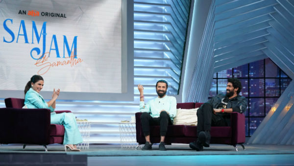 Rana And Nag Ashwin For samantha Sam jam Show