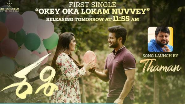 Aadi Sai Kumar Sasi First Single On 3rd January