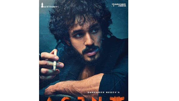 Akhil Akkineni - Surender Reddy Movie First Look Poster Released
