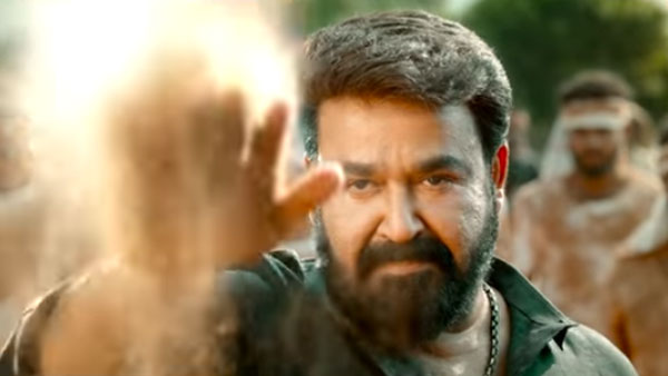 Mohanlal Speaks Out Telugu Dialogue In Aarattu Teaser