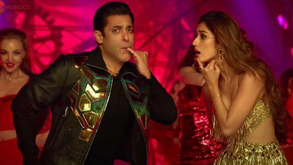 Salman Khan S Radhe Movie Seeti Maar Song Hit 100 Million