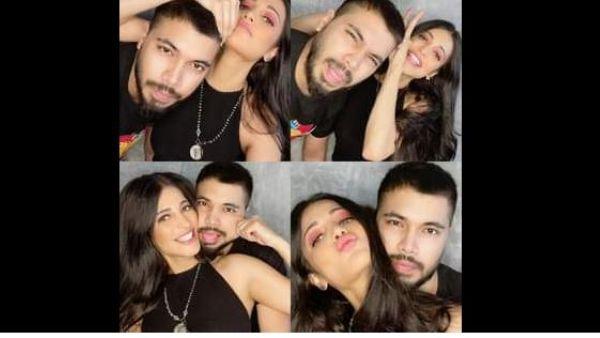 Shruthi Hasan Lockdown With Her Bestie Photos Viral
