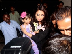 Aaradhya Bachchan Gets Hurt Aishwarya Rai Bachchan Gets Angry At The Media