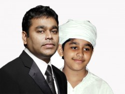 Ar Rahman S Son Ar Ameen Croons A Song For Nirmala Convent