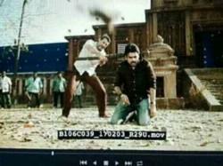 Pawan Kalyan S Katamarayudu Scene Leaked