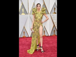 Oscars 2017 Guest Blanca Blanco Suffers Epic Disaster