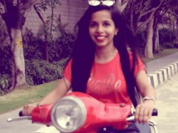 Dhinchak Pooja S Scooter Lands Her Trouble