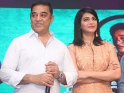 Shruti Haasan About Kamal Haasan Political Entry