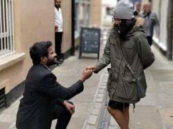 Hyper Aadhi Love Proposaol Pic Goes Viral