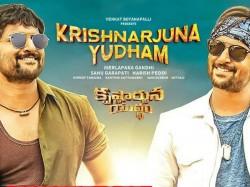Krishnarjuna Yuddham First Day Box Office Collections Report