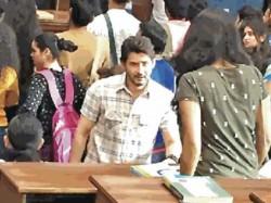 Super Star Mahesh New Look From Mahesh 25 Sets