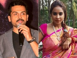 Actor Karthi Lashes Out At Sri Reddy