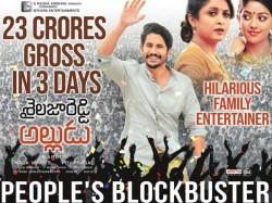 Shailaja Reddy Alludu Grossed 23 Crores 3 Days
