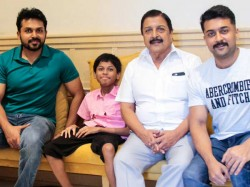 Suriya Meets An Ailing Little Fan Kv Dinesh