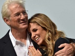 Richard Gere 69 Welcomes Baby Boy With 35 Year Old Wife Alejandra Silva