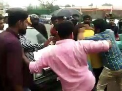 Kannada Actor Huccha Venkat Brutally Thrashed By Unruly Crowd