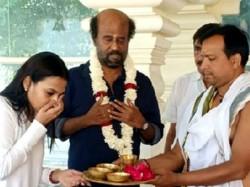 Darbar Shooting Wrap Rajinikanth Went To Himalyas With Aishwarya Dhanush