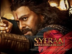 Sye Raa Day 13 Box Office Report Stands At 7th Place Nation Wide