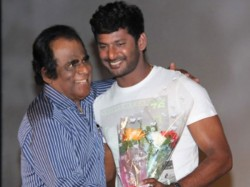 Vishal S Dad Gk Reddy Emotional Statement About Actor S Marriage