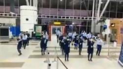 Indigo Staff Dance For Buttabomma Song