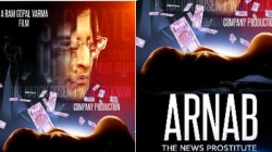 Ram Gopal Varma S Arnab The News Prostitute Motion Poster Released