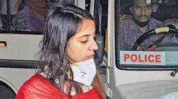 Heroine Sanjana Galrani Struggling In Jail Weather