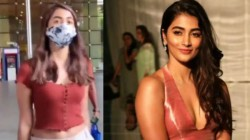 Pooja Hegde At Mumbai Airport Do You Know How Much Her Gucci Belt Bag Cost