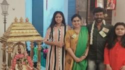 Vanitha Vijaykumar Done Lakshmi Kuberan Pooja At Home