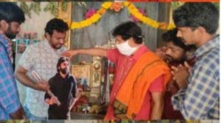 Pawan Kalyan Fans Praying In Temples For Speedy Recovery
