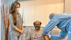 Rajinikath Vaccinated To Fight Against Coronavirus