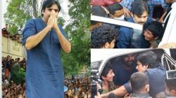Pawan Kalyan Condolenced Chaithra Family At Singareni Colony In Hyderabad