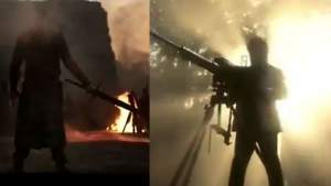 KGF 2 teaser leak; పవర్ఫుల్ లుక్ లో యష్.. హై వోల్టేజ్ యాక్షన్ కాదు.. అంతుకుమించి!